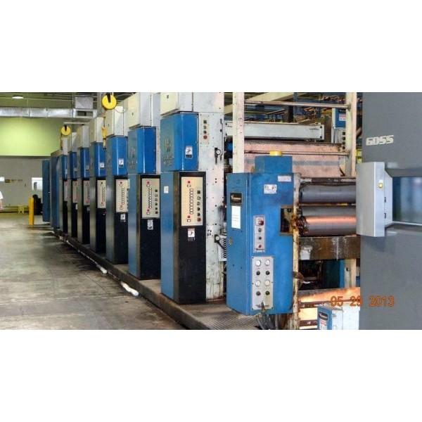 Heidelberg M1000BE 7 Unit Web Press