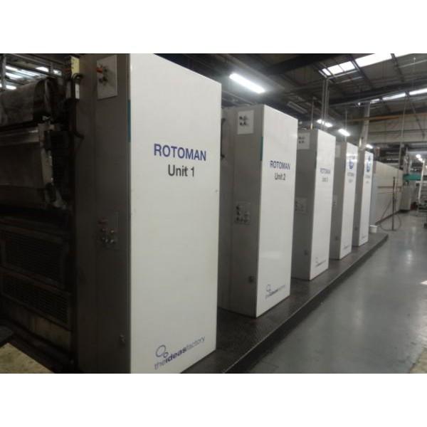 5773 2000 Man Rotoman 5 Unit 1 Web Press