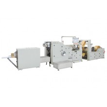 LSB-190 Roll Feeding Square Bottom Paper Bag Making Machine