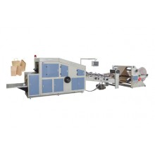 LFD-350 Roll Feeding Square Bottom Paper Bag Making Machine
