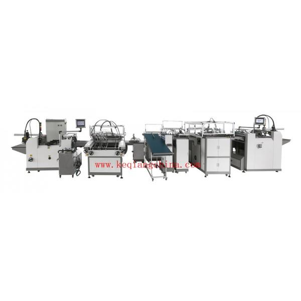 QZFM-700Automatic Case Making & Lining Machine