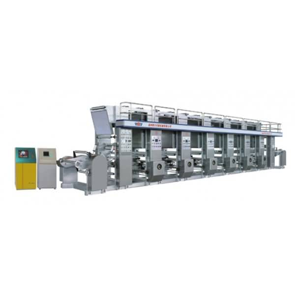 QDASY-B high speed computerized color rotogravure printing machine