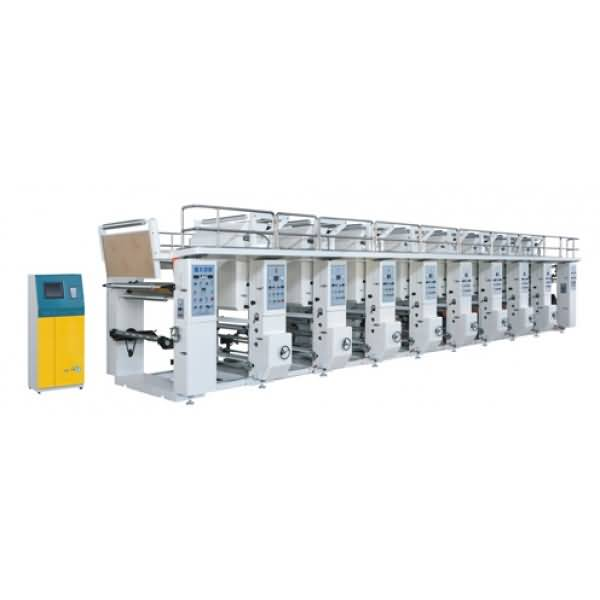 ASY-G model computerized rotogravure printing machine