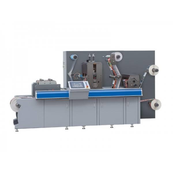 FM-320 Rotary and Semi Rotary Label Die-cutting Machine