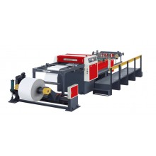 KSA-1100 Double Rotary Knife Paper Roll To Sheet Cutting Machine