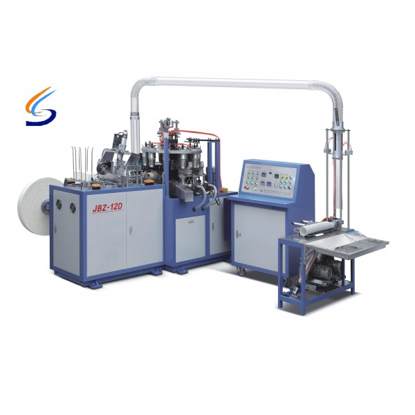 JBZ-12D Middle Speed Paper Cup Machine Manufacturers